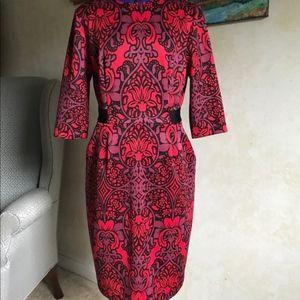 Gabby Skye Red dress Size 4